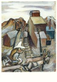 Kar steekt spoor over: de hoed, Jackson Pollock