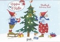 Kerstkleurboek Pippa en Pelle