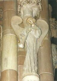 Trombone blazende engel, Straatsburg