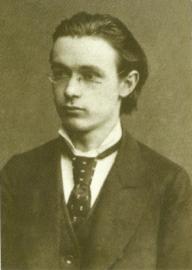 Rudolf Steiner als student 1882