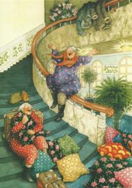 Vrouwen roetsjen van de trap, Inge Löök
