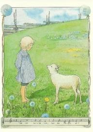 Jongen met lam, Elsa Beskow