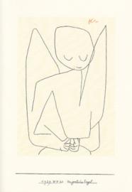 Vergesslicher engel, Paul Klee, dubbele kaart