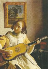 De gitaarspeelster, Johannes Vermeer