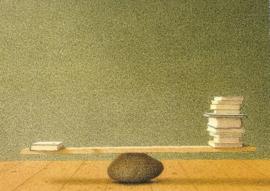 Boeken weegschaal, Quint Buchholz