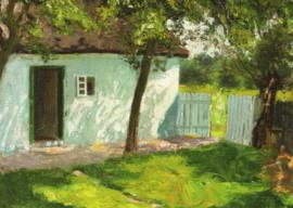 Hut in Ahrenshoop, Franz Triebsch