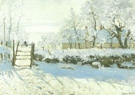 De ekster, Claude Monet