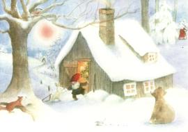 Kerstmis in het bos, Wilfried Strüning