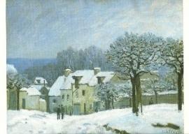 Marly sneeuwlandschap, Alfred Sisley