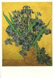 Vaas met irissen, Vincent van Gogh