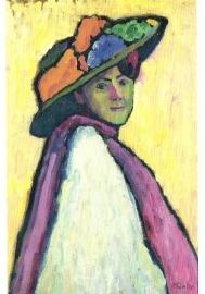 Portret Marianne von Werefkin, Gabriele Münter