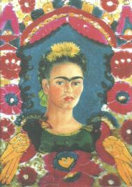 Zelfportret The Frame, Frida Kahlo
