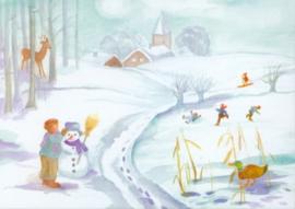 Winter, Dorothea Schmidt DIN A3