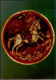 St. Georg, Byzantijns mozaïek