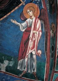 Verkondigingsengel, Byzantijns 12e eeuw Cyprus
