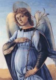 Detail uit de drie aartsengelen en Tobias (2), Sandro Botticelli
