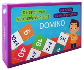 Domino - De tafels van vermenigvuldiging