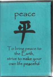 Only natural notebook Peace