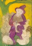 Herder met schapen, Jula Scholzen Gnad