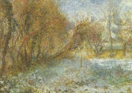 Sneeuwlandschap, Pierre-Auguste Renoir