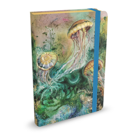 Mid Size Journal Peter Pauper Jellyfish