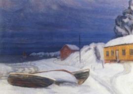 Uitzicht uit Vestfold, Harald Oskar Sohlberg
