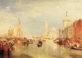 Venetië, Dogana en San Giorgio, J. M. W. Turner