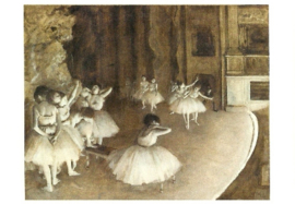 Balletrepetitie, Edgar Degas