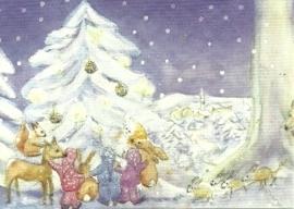 Kerstmis in het bos, Mea Waser