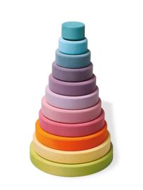 Regenboog toren pastel