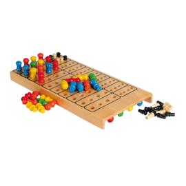 Meester Logica bordspel, Mastermind uitgevoerd in hout