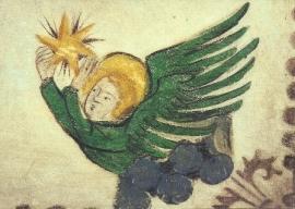 Engel met ster, Munster van Bazel