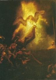 Opstanding Christus, Rembrandt