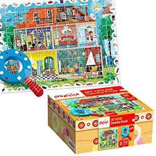 Detective puzzle: My house ( 108 pcs 5+)