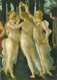 De lente (detail), Sandro Botticelli