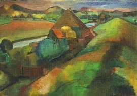 Duinlandschap, Piet Wiegman