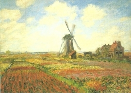 Tulpenveld in Holland, Claude Monet