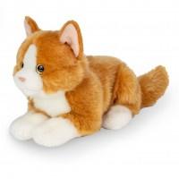 Kat liggend rood (20 cm)