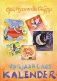 Geertje van der Zijpp, verjaardagskalender