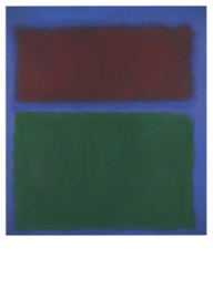Groen en kastanjebruin, Mark Rothko
