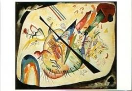 Ovale blanc, Vassily Kandinsky