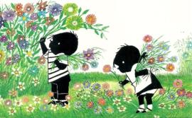 Jip en Janneke plukken bloemen, Fiep Westendorp