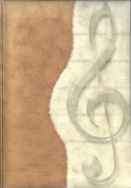 Olino Paperworks, Notebook met een omslag van loktapapier, Music Key