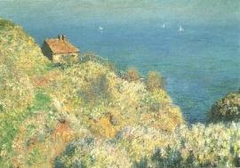 De hut van de douanier, Claude Monet