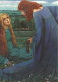 Verkondiging, Heinrich Vogeler,1901