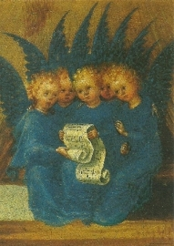 Zingende engelen, Stefan Lochner