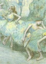 Danseressen in de coulissen, Edgar Degas