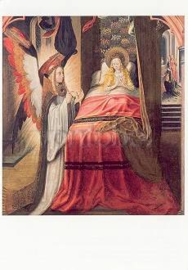 Verschijning van de engel, Meester van de Ursula legende