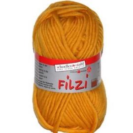 Filzi 100% viltwol 50 gram / bol kleur 006 geel
