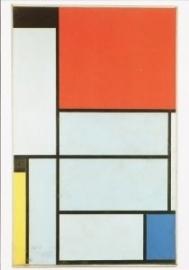 Tableau I, 1921, Piet Mondriaan